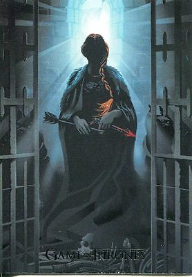 Game Of Thrones Season 6 Beautiful Death Chase Card BD59 Battle of the Bas