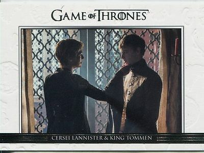 Game Of Thrones Season 6 Relationships Chase Card DL37 Cersei Lannister & King