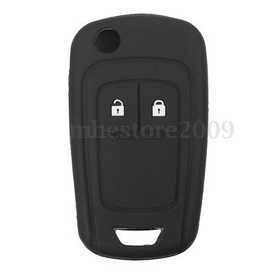 Silicone 2 Button Remote Key FOB Case Cover For VAUXHALL OPEL ASTRA J ZAFIRA C