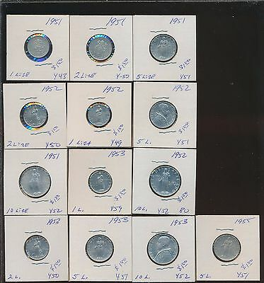 Vatican - Lot Of 13 Bu - All Different