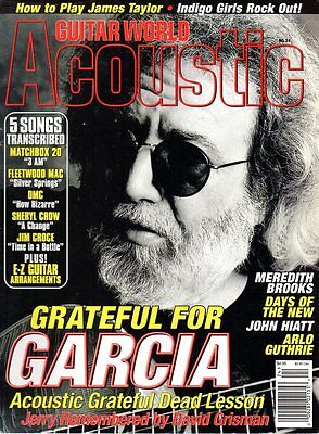 Jerry Garcia Grateful Dead Cover Guitar World Acoustic Remembered David Grisman
