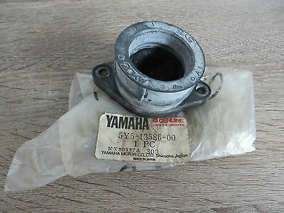 Yamaha Ansaugstutzen 20 KW links XT550 Joint carburetor Original NEU