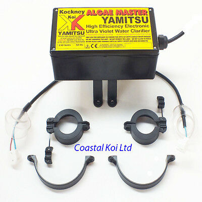 Yamitsu Algae Master UV Electrics 25/ 30 /55 watt Kockney Koi UVC Spares
