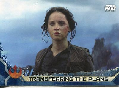 Star Wars Rogue One Series 2 Complete Blue Parallel 100 Card Base Set