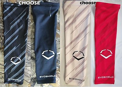 fd305b4c3 EvoShield Compression Speed black/white solid or Striped Arm Sleeve, Youth  size