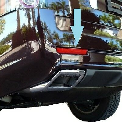 nearside rear bumper REFLECTOR Range Rover L322 Exterior design pack ultimate NS
