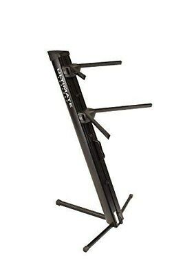 Ultimate Support Ax48Pro Apex Series Ax-48 Pro Dual Tier Column Keyboard Stand