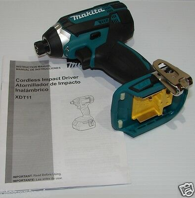 Makita XDT11Z 18V LXT Lithium-Ion Cordless Impact Driver (Tool Only) XDT04Z
