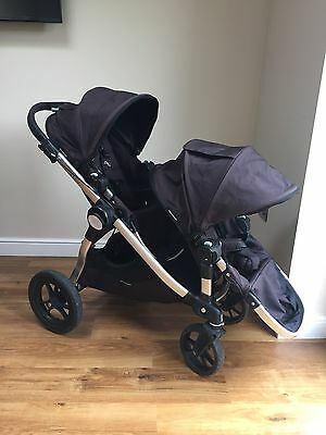 Baby Jogger City Select Double Pushchair In Black