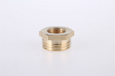 3/4BSP x 1/4BSP Male to Female Thread Brass Hex Reducing Bushing 10pcs