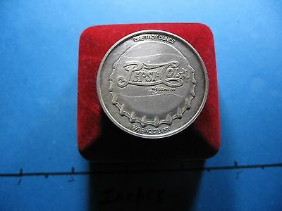 Pepsi-Cola Soda Pop Commercial Super Rare 999 Silver Coin Round Only 1 On Ebay