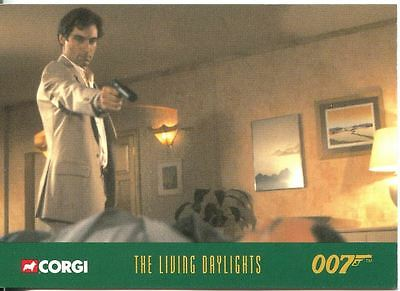 James Bond Corgi Cars Exclusive Trading Card #42 The Living Daylights