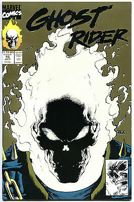 GHOST RIDER #11 12 13 14 15, NM+, Johnny Blaze, Texeira, Blood, 1990, glows