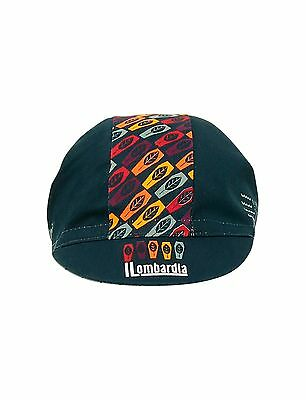 2017 Lombardia Cycling Cap made in Italy by Santini