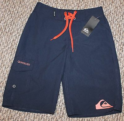 New! Boys Quiksilver Everyday Board Shorts (Swim Boardies; Blue) - Size 6/23