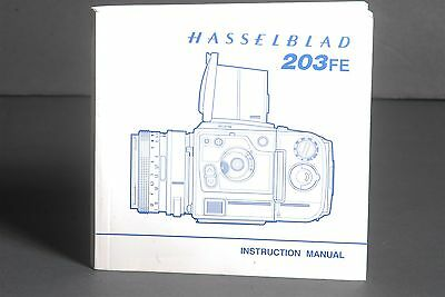 Hasselblad 203FE Camera Instruction Book / Manual / User Guide