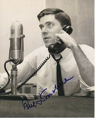 Phil Donahue Signed Autographed 8x10 Photograph