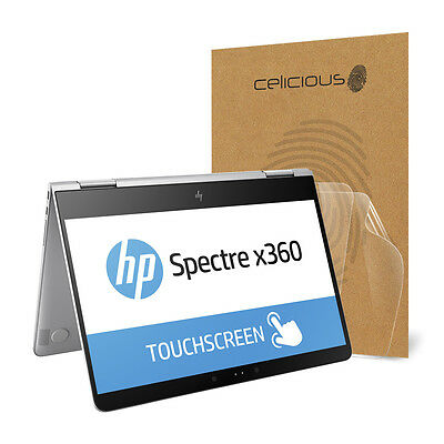 Celicious Vivid HP Spectre x360 13-W Crystal Clear Screen Protector [Pack of 2]