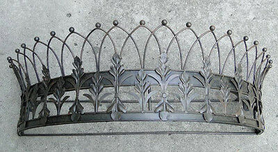 Royal Crown Teester Bed Valance Curtain Holder or Door Drapery Hardware
