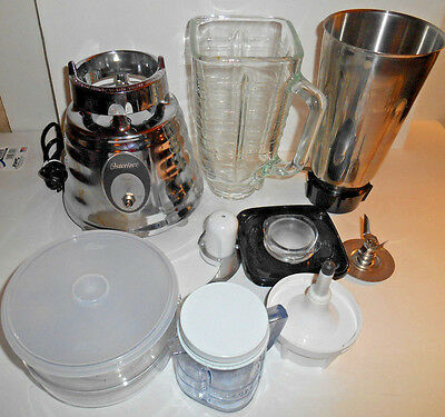 Oster Blender Milk Shake  Beehive Shape 564A Chrome Classic Osterizer 4094