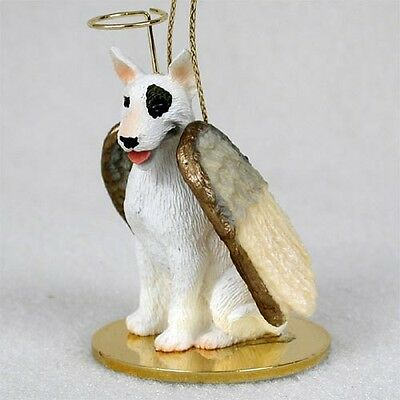 Bull Terrier ANGEL Tiny One Ornament Figurine Statue