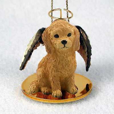 GOLDENDOODLE Dog ANGEL Tiny One Ornament Figurine Statue