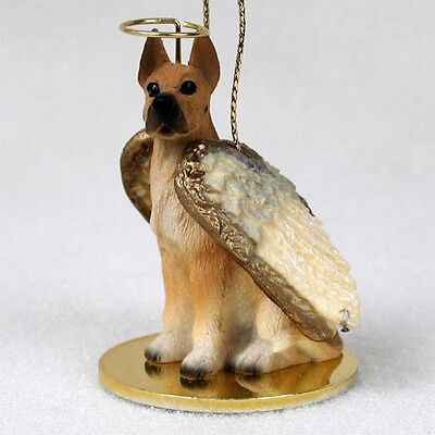 GREAT DANE Fawn Dog ANGEL Tiny One Ornament Figurine Statue