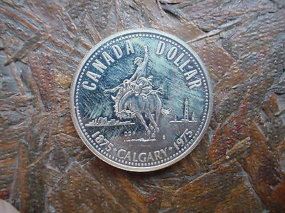 1975 Canadian Silver Dollar Coin - Must See