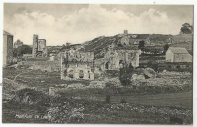 m irish postcard ireland louth mellifont abbey