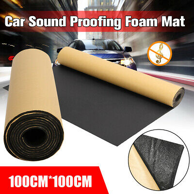 10.76SqFt Sound Proofing Vehicle Deadening Insulation Material Closed Cell Foam