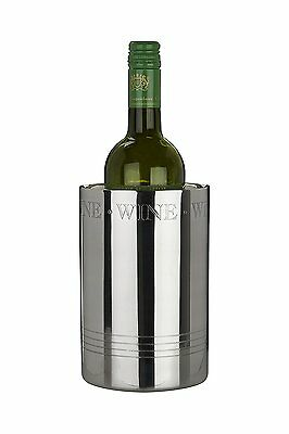 Bombay Stainless Steel Wine Cooler Champagne Bucket Ice Accessory Bottle Chiller