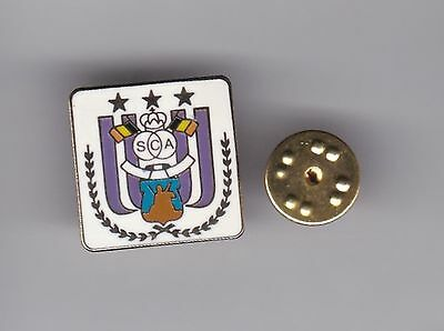 Anderlecht ( Belgium ) - lapel badge butterfly fitting