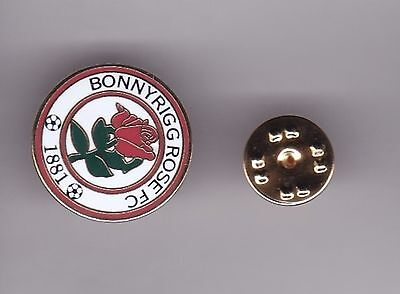 Bonnyrigg Rose ( Easter Region Super League ) - lapel badge butterfly fitting
