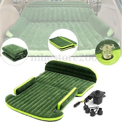 SUV Car Cushion Extend Inflatable Mattress Travel Air Bed  Back Seat Camping