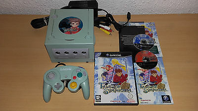 Console Nintendo Game Cube Gamecube Edition Tales Of Symphonia + Jeu