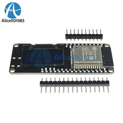 "0.96"" OLED ESP32 ESP-WROOM-32 WIFI-BT Dual-mode 2.4GHz For Wemos D1 AP STA"