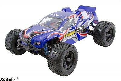 XciteRC Ferngesteuertes Auto RC Buggy 1:10 Truggy One10 4WD Brushless RTR