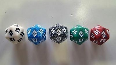 1x Dice DADO D20 Spindown Lifecounter mtg Battle for Zendikar - Battaglia BFZ