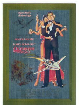 James Bond Connoisseurs Collection Volume 3 Metalworks Poster Chase Card P13