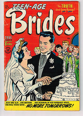 TEEN-AGE BRIDES 4 Sep 1954 - Buy 3 Comic Books get Free Shipping