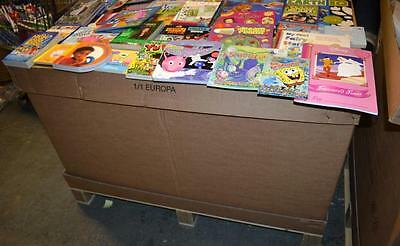 Pallet Of Books Each Pallet - Qty. 500  / Job Lot / Wholesale  -