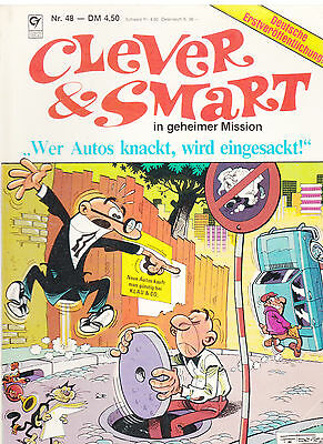 Clever & Smart Nr. 48 / 1. Auflage / Comic-Album