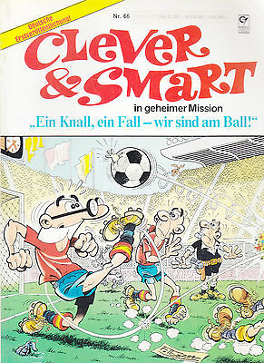 Clever & Smart Nr. 66 / 1. Auflage / Comic-Album