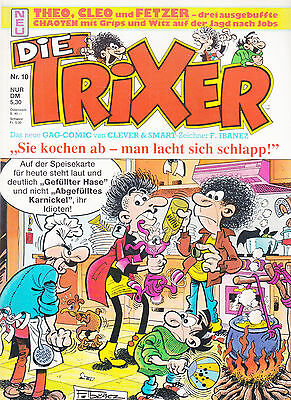 Die Trixer Nr. 10 / Comic-Album