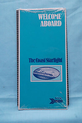Brochures paper railroadiana trains transportation coast starlight welcome aboard route guide packet circa 1988 publicscrutiny