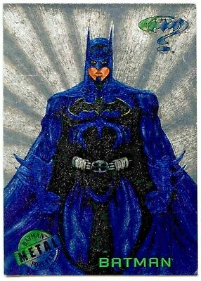 Batman Forever Metal Silver Flasher Card Or Gold Blaster Card ...choose