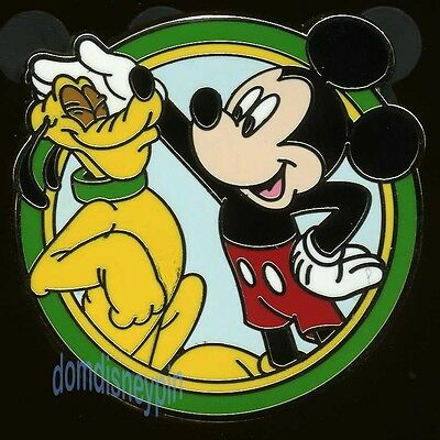 Disney Pin Disney's *Best Friends* Mystery Series - Mickey Mouse and Pluto!