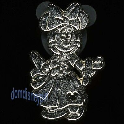 Disney Pin WDW 2013 Hidden Mickey Series *Pin Traders Icons* Minnie Mouse (C)!