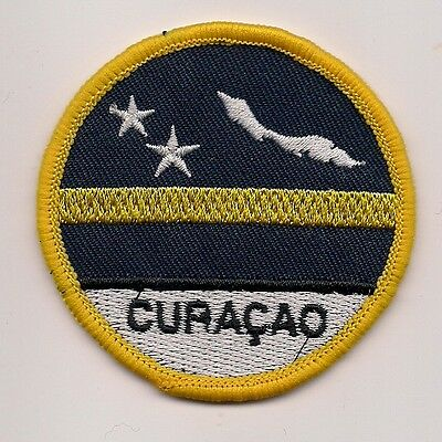 Country Of Curacao Souvenir Patch