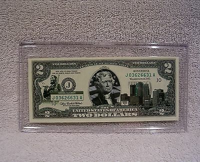Minnesota $2 Two Dollar Bill - Colorized State Landmark - Uncirculated Authentic